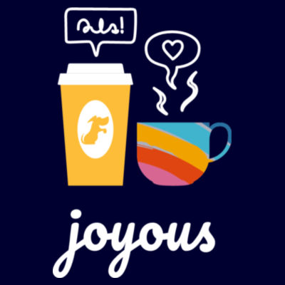 Joy Cups 2021 - Womens Curve Longsleeve Tee Design